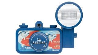 Illustration for article titled Who Knew Sardine Tins Could Inspire Lomography's Camera Design?
