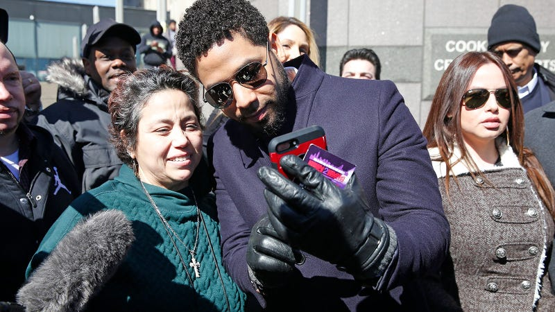 Illustration for article titled Jussie Smollett Is a 'Washed Up Celeb Who Lied to Cops,' According to Kim Foxx's Texts