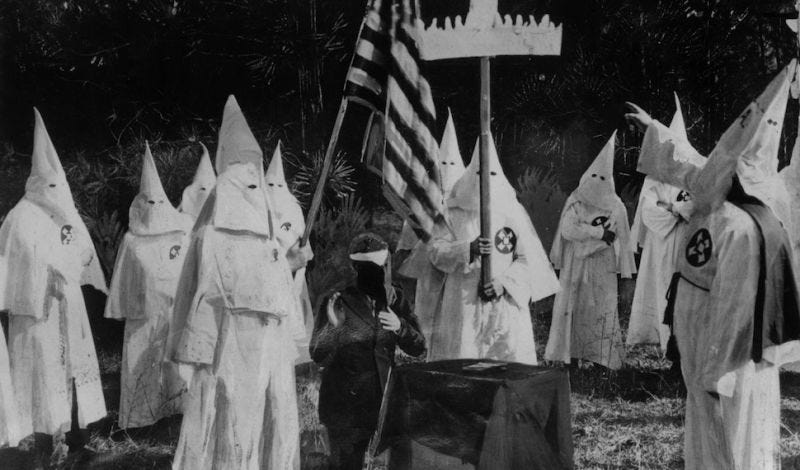 Illustration for article titled About That KKK Dox