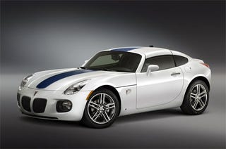 GM Performance Parts Bringing Solstice GXP Coupe To SEMA