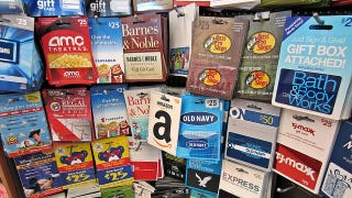 How to buy gift cards for less assuming you have something to spend them on gift cards are as good as money one handy difference between money and gift cards though no ones going to negle Image collections