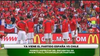 Illustration for article titled Spain vs. Chile: Live Online Streaming Links