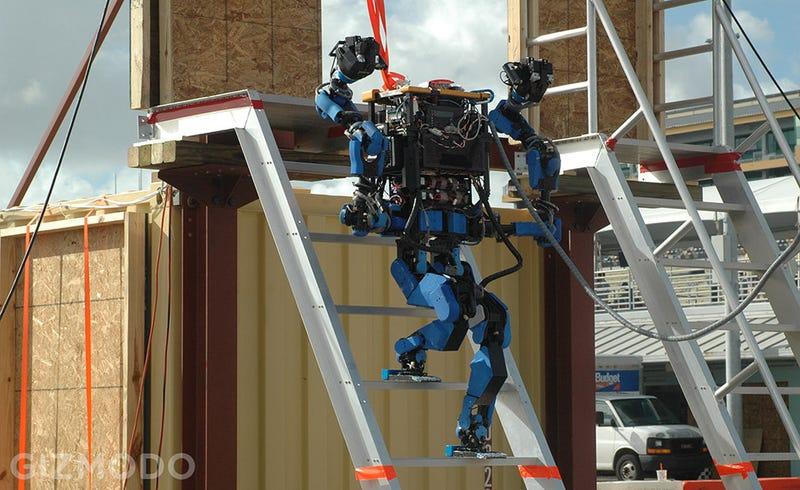 Illustration for article titled El nuevo robot de Google gana la competición de la DARPA