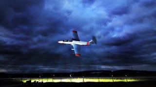 Illustration for article titled ¿Cómo fotografiar un avión a 500 Km/h? Con 30.000 vatios en flashes