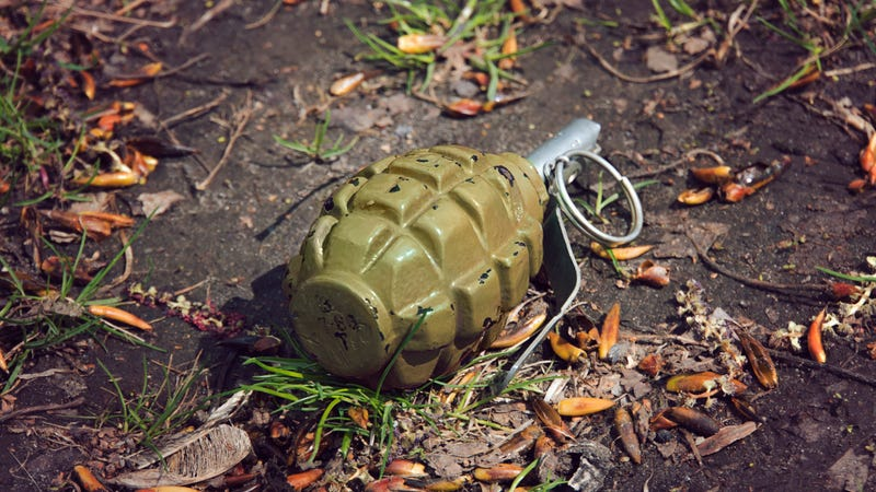 Illustration for article titled Today in Florida: Fisherman finds WWII hand grenade, takes it to Taco Bell