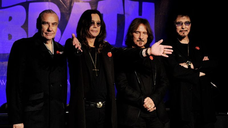 "Illustration for article titled Black Sabbath prolongs ""The End"" by adding new tour dates"