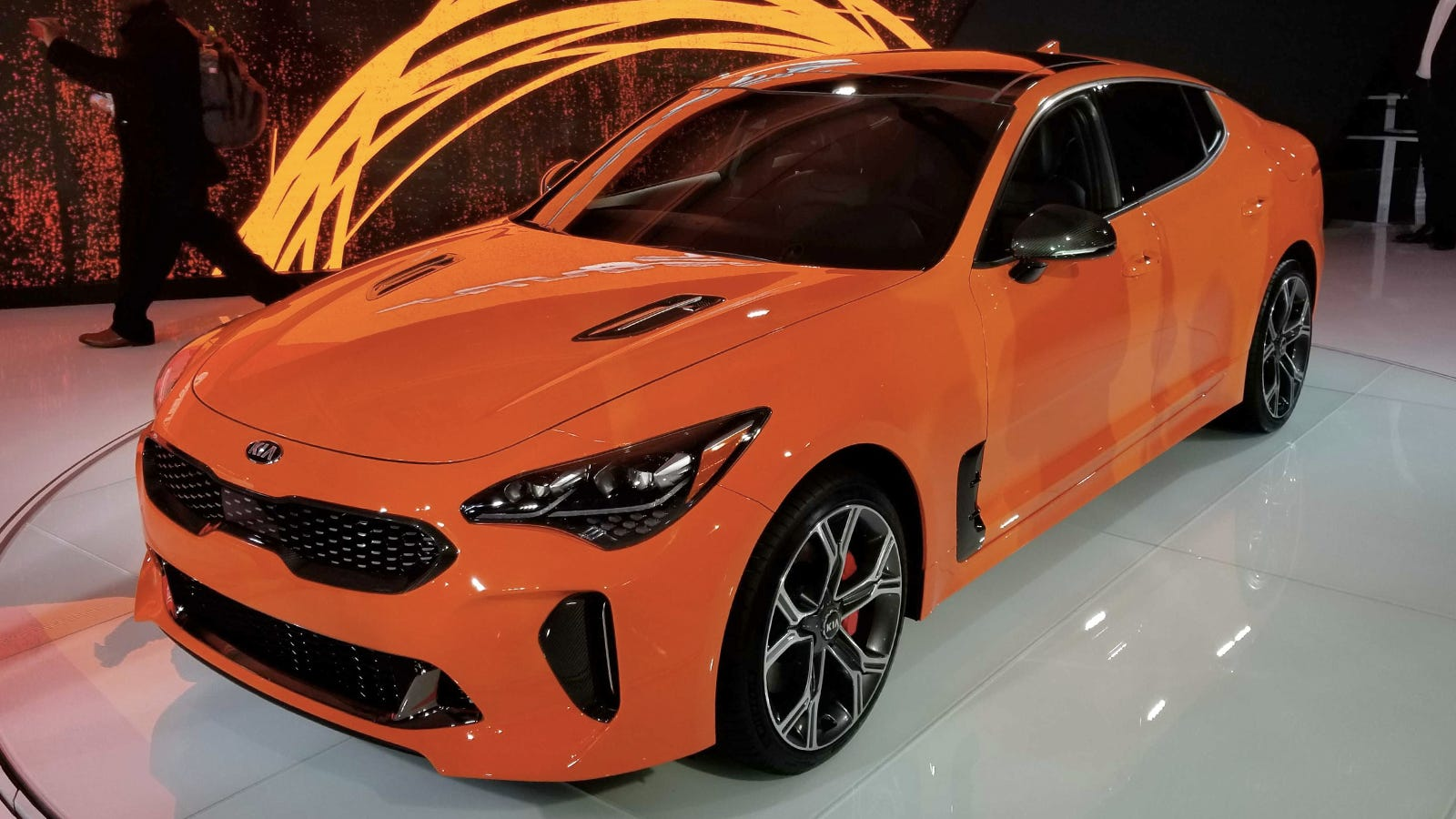 The 2019 Kia Stinger GTS Gets Drift Mode - Jalopnik