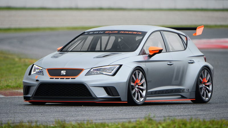 Illustration for article titled The New Seat Leon Cup Racer Looks Crazy Good