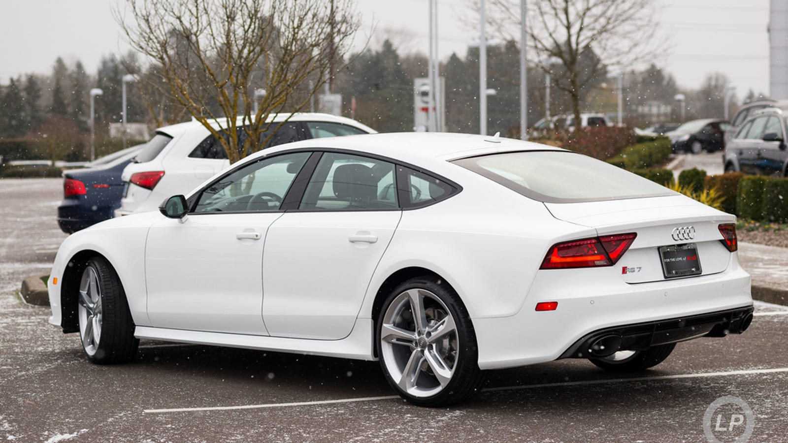 In Photos Ibis White Audi Rs 7