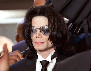 The now-infamous Michael Jackson.