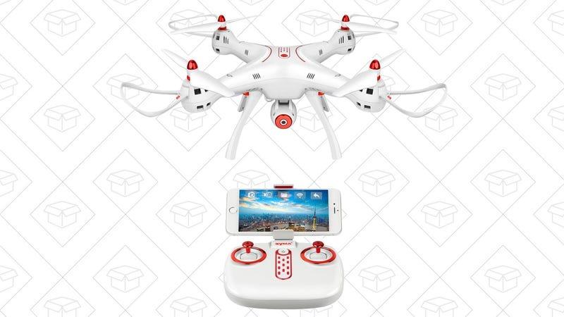 Syma X8SW Wi-Fi Drone, $98