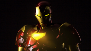 Illustration for article titled An Even Better Look At Sentinel's Gorgeous Extremis Iron Man
