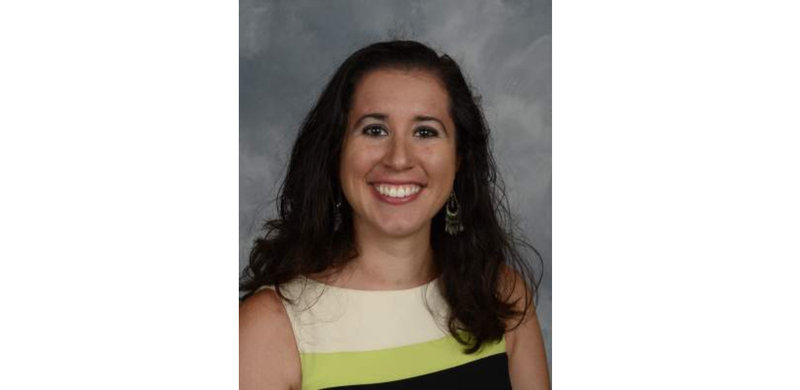 Crystal River (Fla.) Middle School social studies teacher Dayanna Volitich