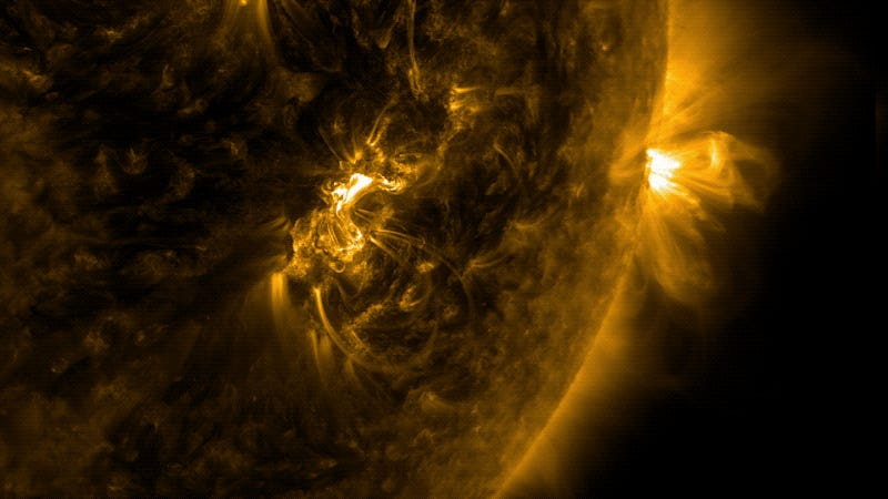 RADIATION WARNING: The sun is releasing the 'most intense' solar flares ever