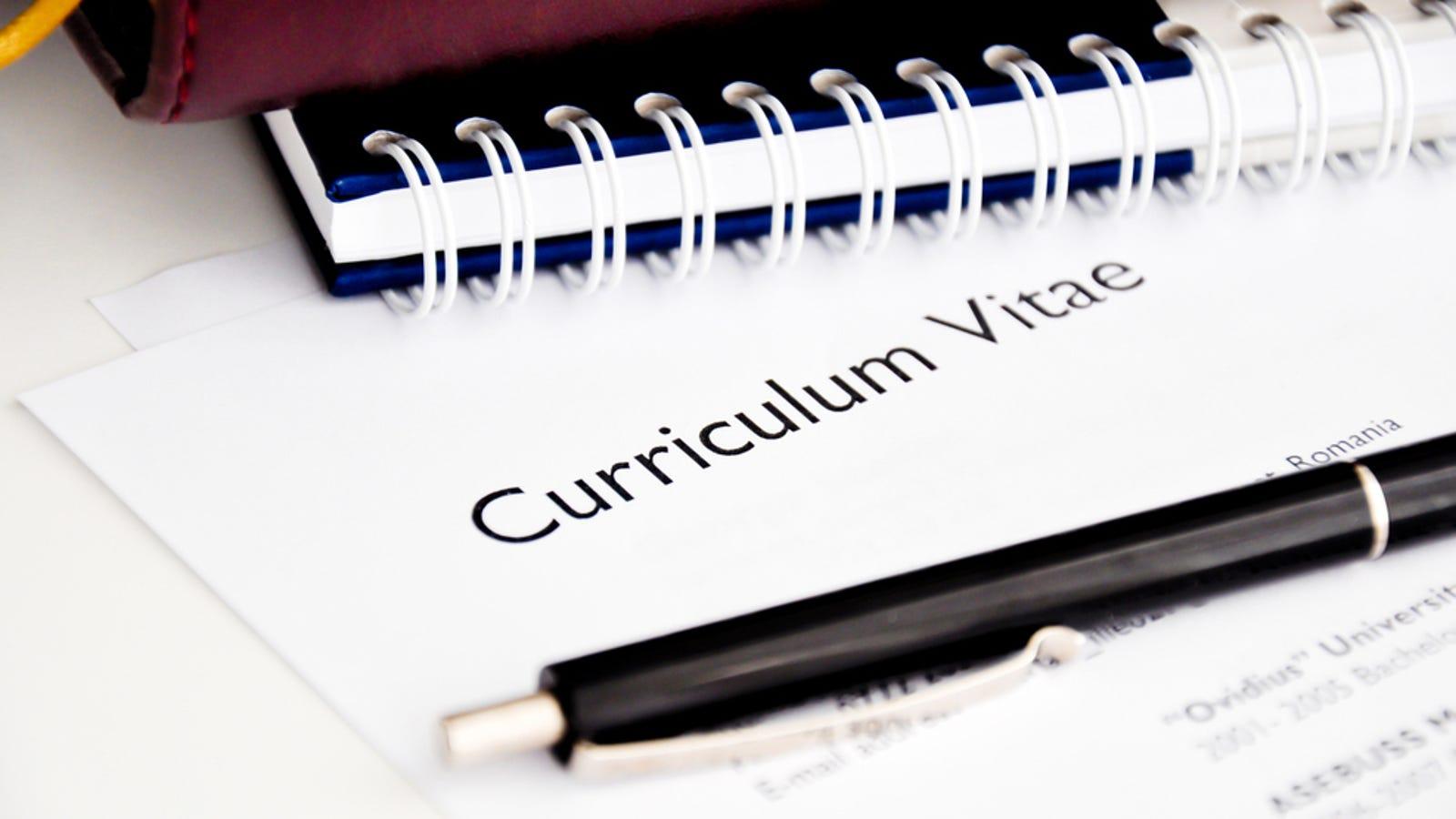 Si quieres que tu currículum triunfe, evita estas palabras