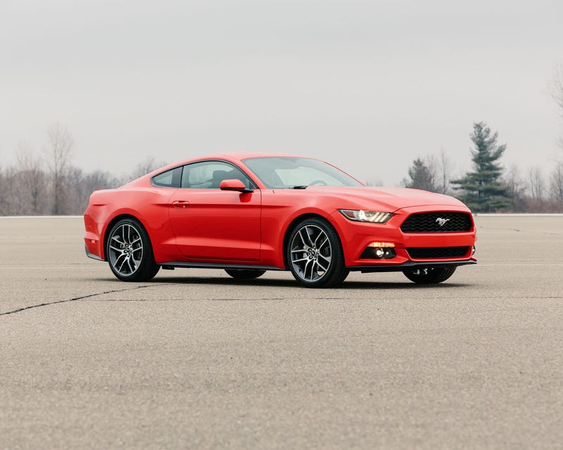 Illustration for article titled 2015 Mustang