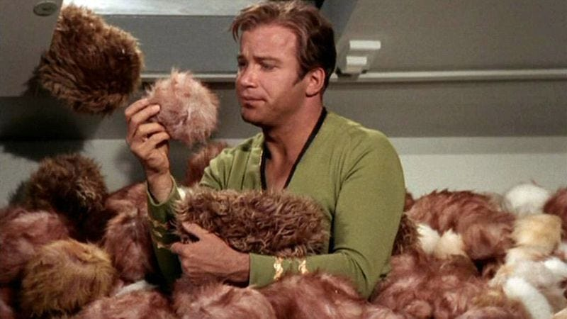 """Star Trek, """"The Trouble With Tribbles"""""""