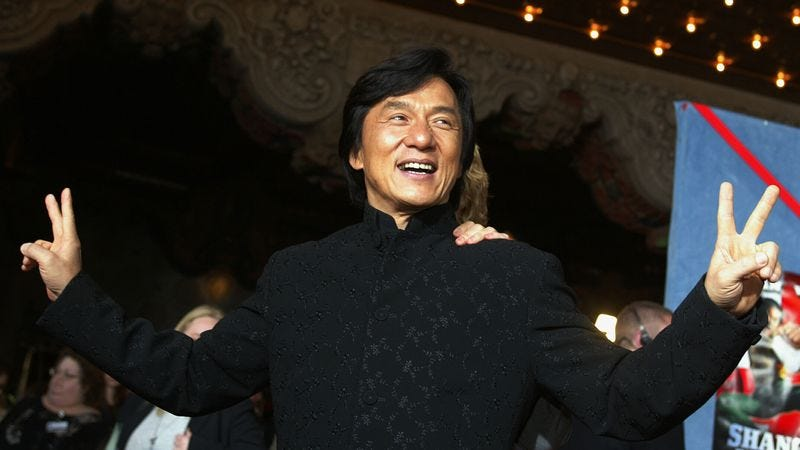 Illustration for article titled 10 Reasons Why Jackie Chan Is Definitely Going To Heaven