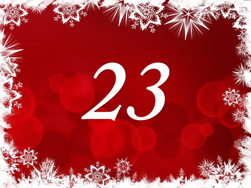 Illustration for article titled The TAY Advent Calendar: Day 23