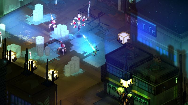Illustration for article titled Bastion studio's new game, Transistor, gets a release date