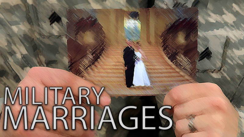 divorce rate in military