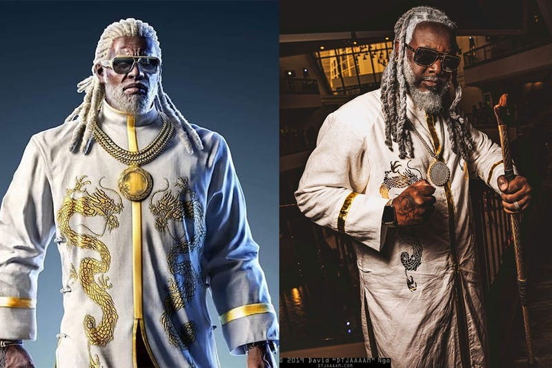 Oh, It's Just T-Pain Cosplaying As A Tekken Character