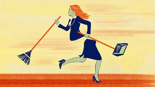 Illustration for article titled Women at Work: We're Doing All the 'Office Housework,' Too