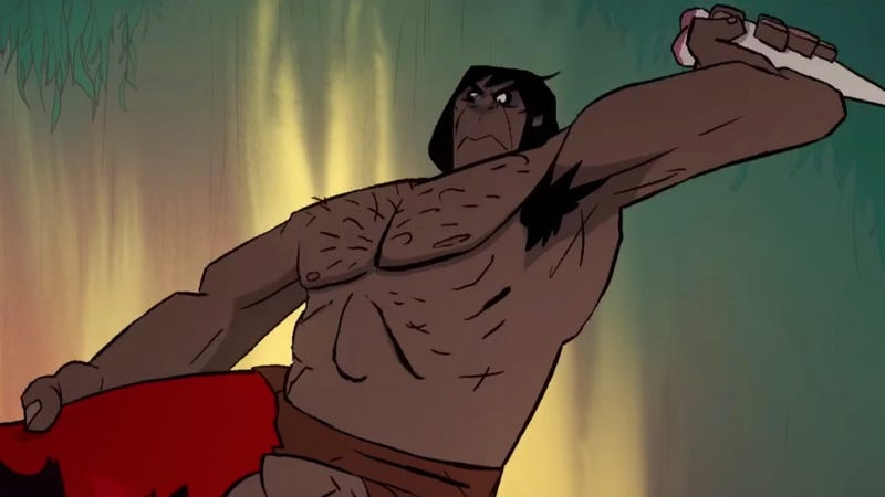 The new show by Genndy Tartakovsky, Primal, looks exactly that.