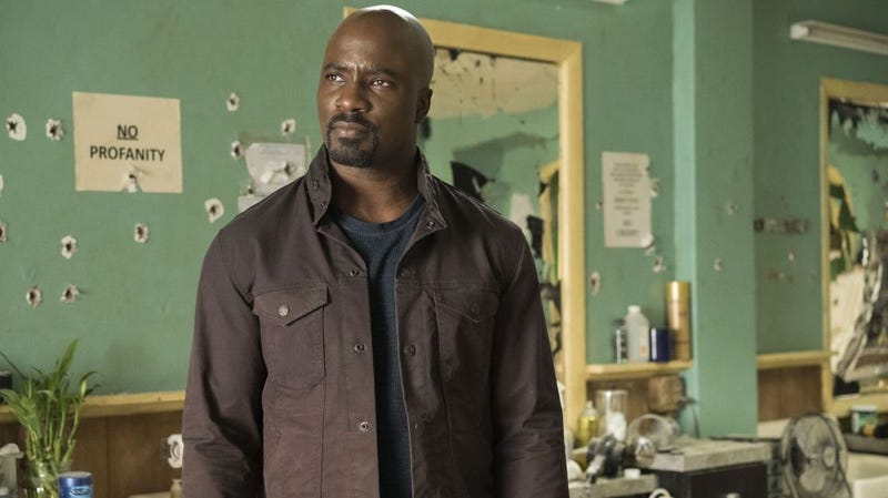 Mike Colter as Luke Cage.