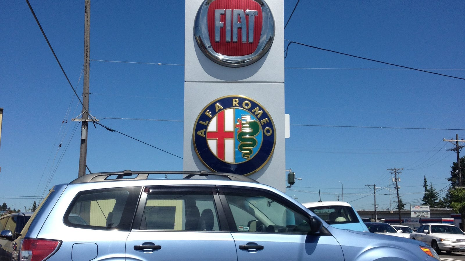 Fiat alfa romeo kirkland