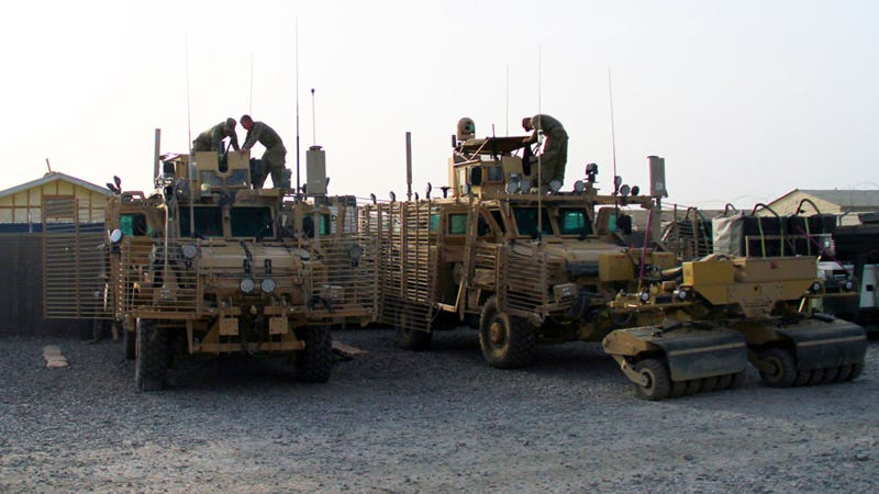 Illustration for article titled The Most Badass Truck in the US Army Is Straight Out of Thunderdome