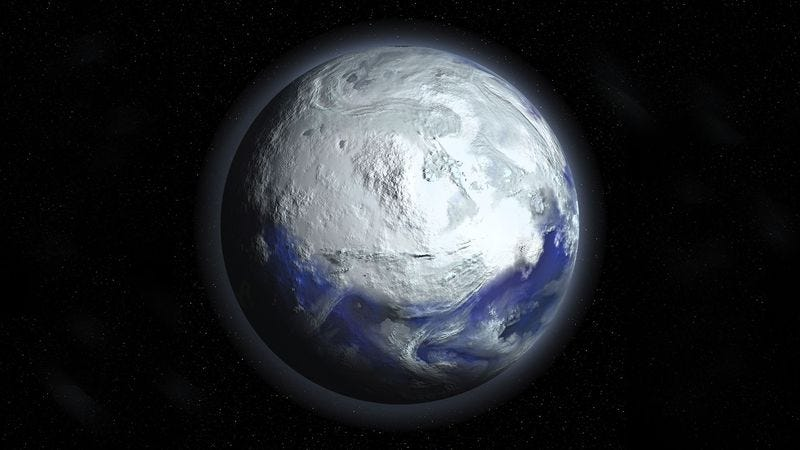 Illustration for article titled New Evidence Suggests Last Ice Age Caused By Earth Floating Into Extremely Chilly Part Of Galaxy