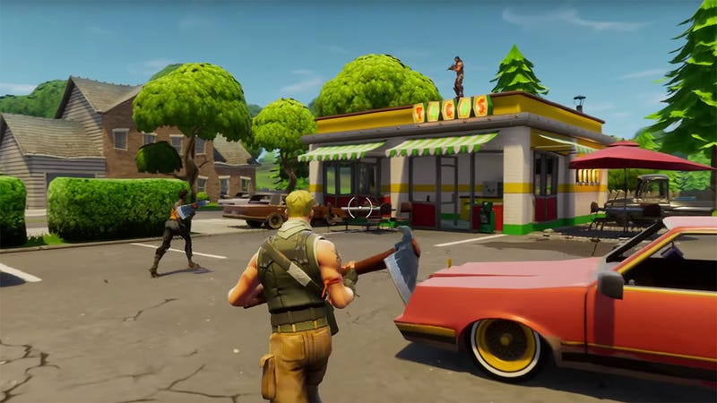 Illustration for article titled To Differentiate Itself From 'PlayerUnknown's Battlegrounds,' The Game Has Added A Map Set Inside A Law Firm That Specializes In The Nuances Of Copyright Infringement: Everything You Need To Know About 'Fortnite'