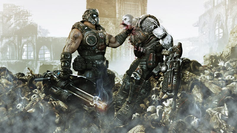 Illustration for article titled Gears of War Designer Shares Tons Of Behind-The-Scenes Details