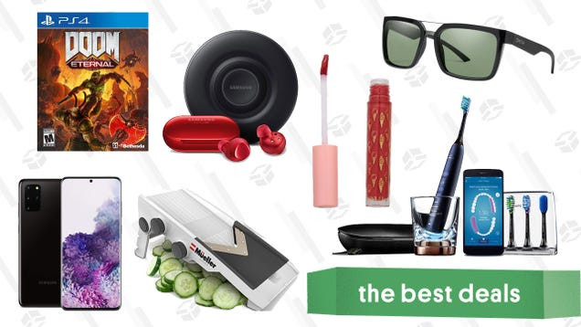 Tuesday s Best Deals: Doom Eternal, Netvue Pet Camera, Müeller Veggie Slicer, and More