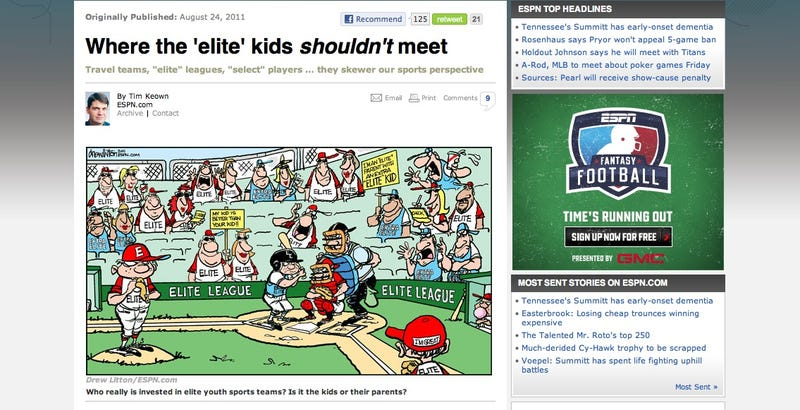 Illustration for article titled Brought To You By The Network That Televises The Little League World Series