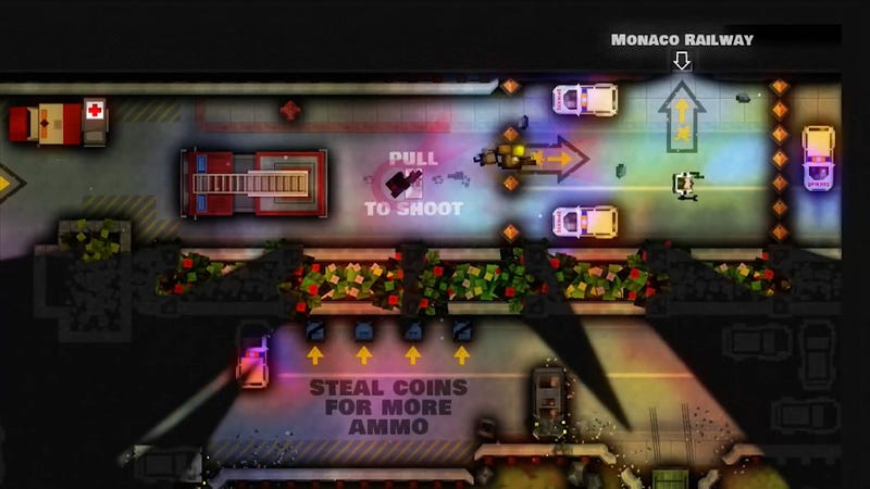 Pocketwatch Games' Monaco, the retro-styled co-op heist game that we really, really liked, is no