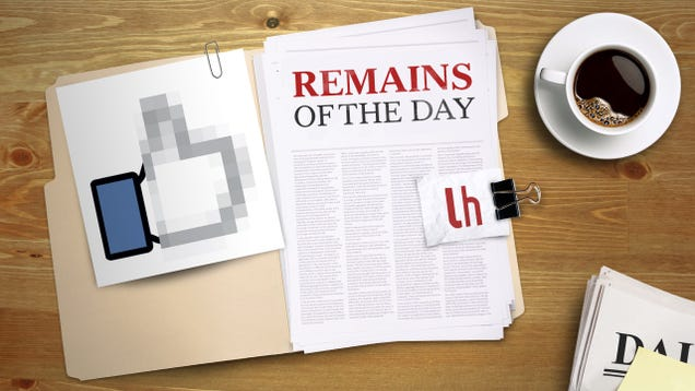 Remains of the Day: Facebook to Allow More Explicit Posts When They're Newsworthy