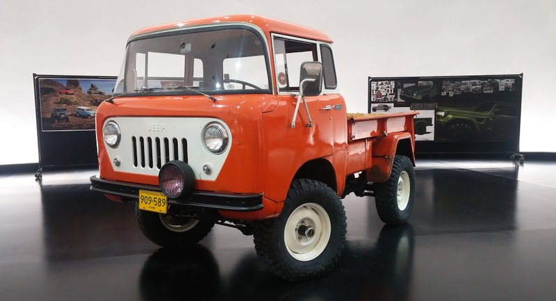 Illustration for article titled The Jeep FC 150 Concept Is The Forward Control Wrangler Truck Of Your Dreams