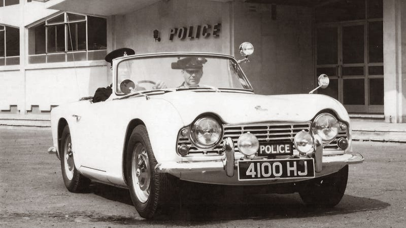 Illustration for article titled This Is The Coolest Police Car For The Summer