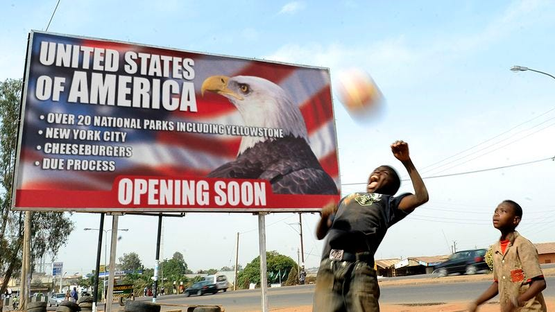 A United States of America is set to open in Bibala, Angola, this March.