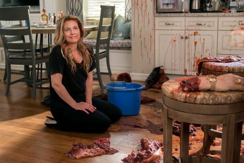 Drew Barrymore as a lovable zombie in Santa Clarita Diet