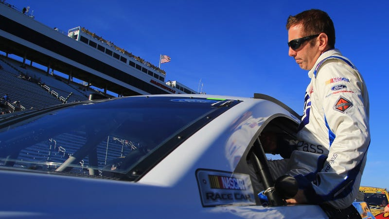 Greg Biffle at Martinsville Speedway in October 2016. Photo credit: Daniel Shirey/Getty Images