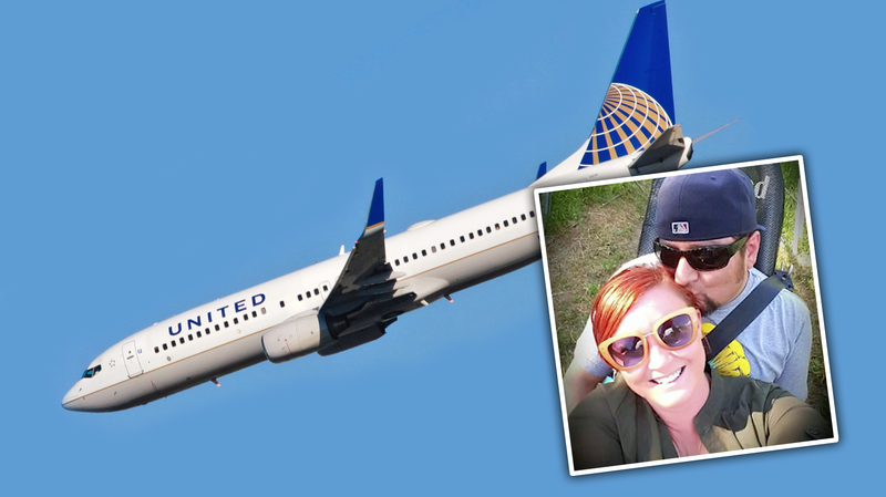 Illustration for article titled Couple Says United Got A U.S. Marshal To Kick Them Off A Plane To Their Wedding