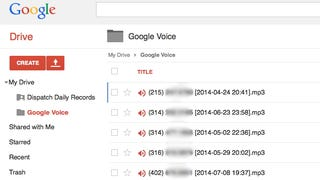 Illustration for article titled Save Google Voicemails to Your Google Drive with a Script