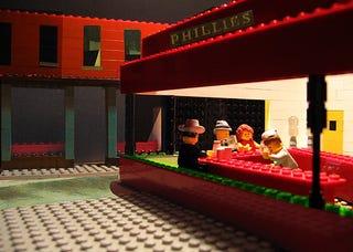 Illustration for article titled Amazing LEGO Dioramas Imitate Fine Art