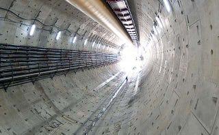 La tuneladora más grande del mundo, detenida por un objeto desconocido