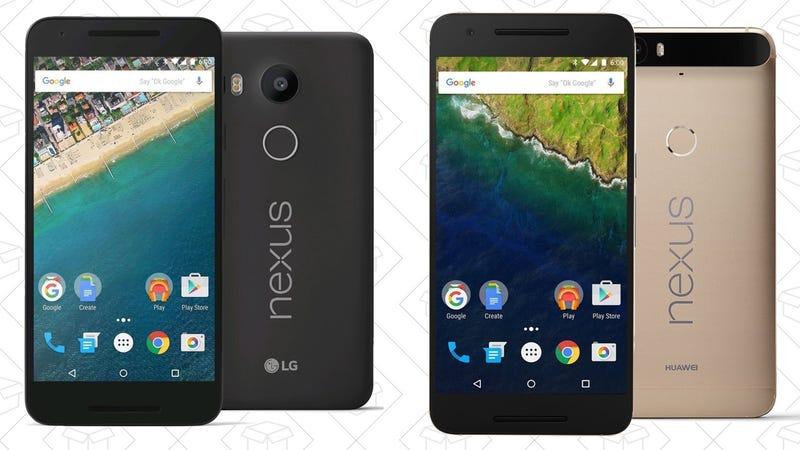 Gold Box de Nexus 5X/Nexus 6P   AmazonGráfico: Shep McAllister