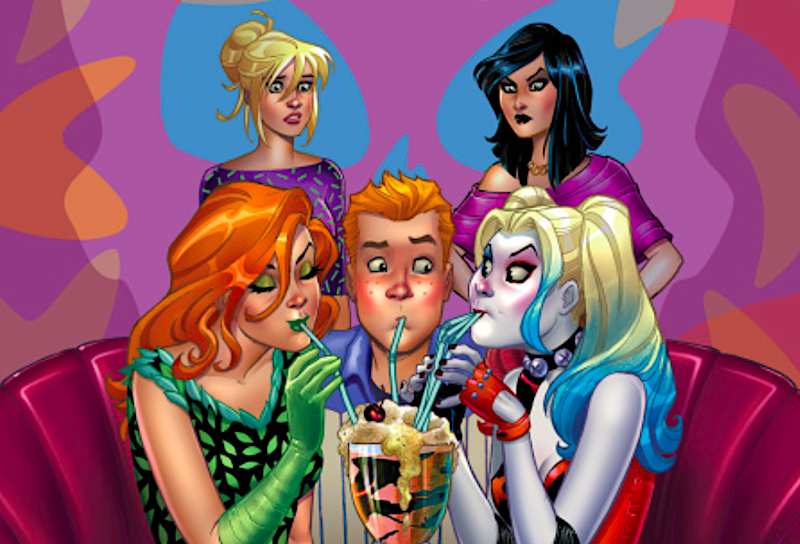 Harley & Ivy Meet Betty & Veronica in New DC/Archie Crossover