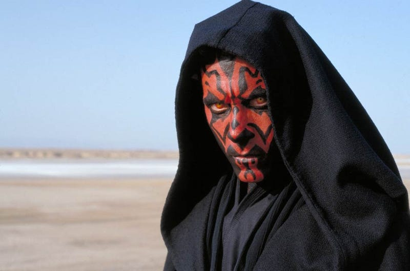 Illustration for article titled Here's a look at leaked footage and art from a cancelled Darth Maul game